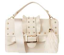 Handtasche mit Rüschen und Nieten