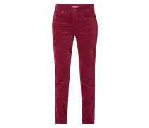 Straight Fit Hose aus Velvet Cotton