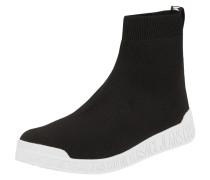 Sock Boots mit Logo-Applikationen