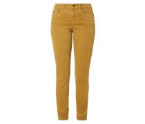 Skinny Fit Hose aus Velvet Cotton