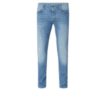 Renewed Slim Fit 5-Pocket-Jeans