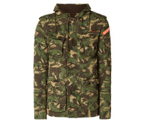 Fieldjacket mit Kapuze