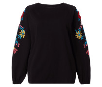 PLUS SIZE - Sweatshirt mit floralen Prints