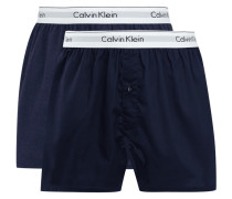 Slim Fit Boxershorts im 2er-Pack