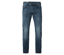 Regular Slim-Tapered Fit Jeans mit Stretch-Anteil