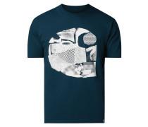 T-Shirt mit Logo-Aufnäher