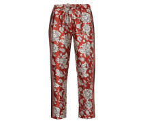 Track Pants mit Allover-Muster