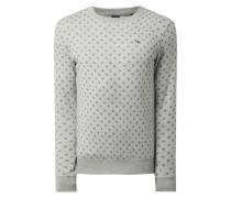 Sweatshirt mit Alllover-Muster