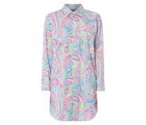Nachthemd mit ornamentalem Muster