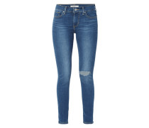 Shaping Skinny Fit Jeans im Used Look