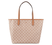Shopper mit herausnehmbarer Reißverschlusstasche