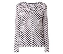 Blusenshirt aus Modal-Baumwoll-Mix