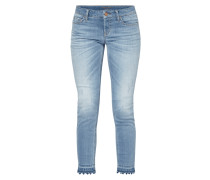 Used Look Jeans mit Stretch-Anteil