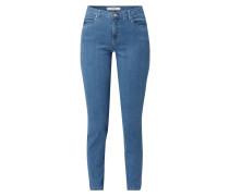 Skinny Fit Jeans mit Anker-Print