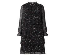 PLUS SIZE - Kleid aus Chiffon im Stufen-Look