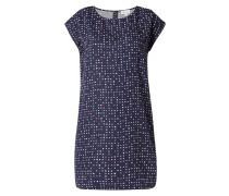 Kleid mit Allover-Tupfenmuster
