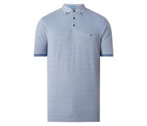 Casual Fit Poloshirt aus Piqué