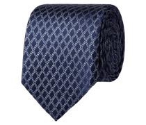 Krawatte mit eingewebtem Rautenmuster
