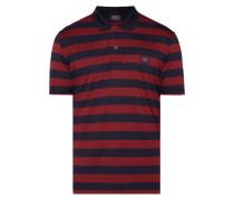 Poloshirt aus merzerisierter Baumwolle