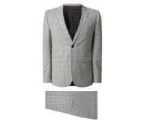 Extra Slim Fit Anzug mit 2-Knopf-Sakko Modell 'Astian/Hets'