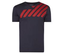T-Shirt mit Logo-Aufbügler