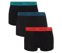 Low Rise Trunks im 3er-Pack