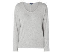 Sweatshirt mit überschnittenen Schultern