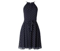 Kleid aus Chiffon mit Polka Dots