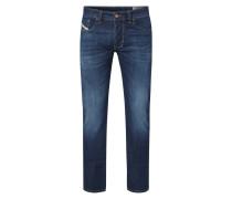 Regular-Straight Fit Jeans mit Stretch-Anteil