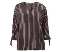 PLUS SIZE - Blusenshirt mit Streifenmuster