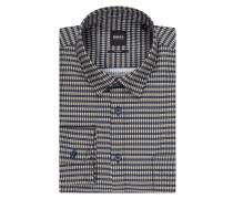 Slim Fit Freizeithemd aus Baumwolle Modell 'Magneton'