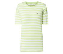 T-Shirt mit Streifenmuster Modell 'Scotty'