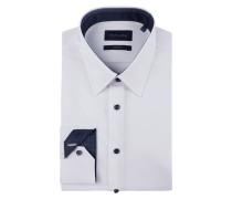 Modern Fit Business-Hemd mit New Kent Kragen