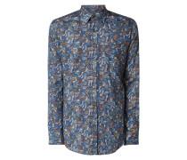 Modern Fit Freizeithemd mit Paisley-Dessin