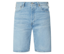 Jeansshorts mit Stretch-Anteil Modell '501' - Water<Less™