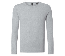 Slim Fit Longsleeve mit Logo-Stickerei