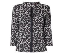 Shirt mit Leopardenmuster