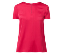 Blusenshirt aus Seide-Elasthan-Mix Modell 'Cindia'