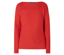 Pullover mit Schnürungen