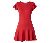 Kleid mit Volantärmeln