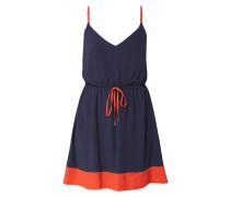 Minikleid im zweifarbigen Design