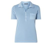 Poloshirt mit aufgesetzter Brustttasche