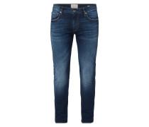 Super Skinny Fit Jeans im Used Look