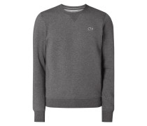 Sweatshirt mit Logo-Badge