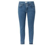 Jeans in schmaler Passform mit Stretch-Anteil