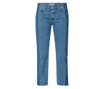 Loose Fit Jeans mit Logo-Print