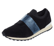 Slip-On Sneaker aus Veloursleder