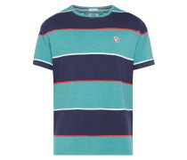 Relaxed Fit T-Shirt mit Blockstreifen