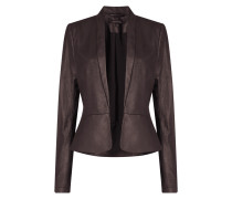 Blazer in Leder-Optik