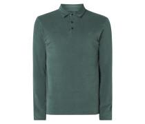 Regular Fit Poloshirt mit langen Ärmeln